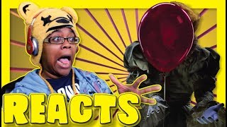 IT Trailer but it's not scary... (2017) Reaction