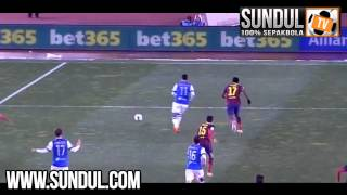 La Liga | Real Sociedad 3-1 Barcelona [23/02/14] | Liga Spanyol, Video Bola, Hasil Pertandingan..