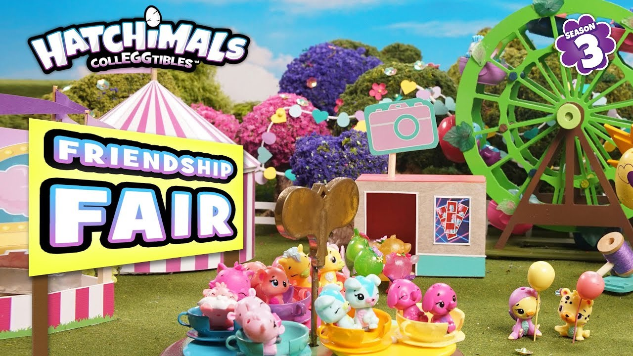 Hatchimals Colleggtibles Season 3 Friendship Fair Funsies Youtube