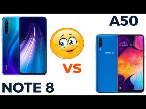 Xiaomi Redmi Note 8 Vs Samsung Galaxy A50. Кто победит?! 🔥 Всё очевидно?