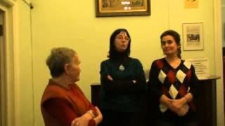 10 10 видео 0314 Выставка посвящённая семье ФОМИНЫХ Библиотека ИСКУССТВ 26 10 2012 Москва