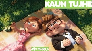 KAUN TUJHE | ANIMATION MIX | CARTOON LOVE STORY | M.S. DHONI By Palak Muchhal