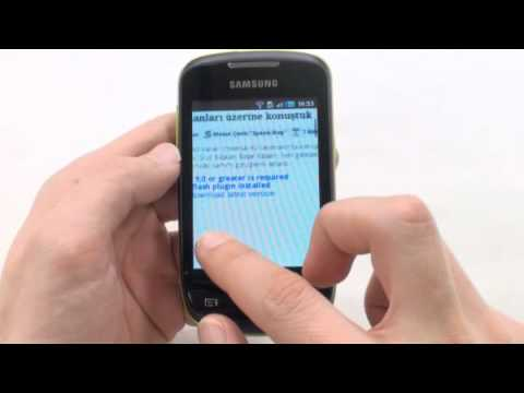 Samsung Galaxy Mini video inceleme