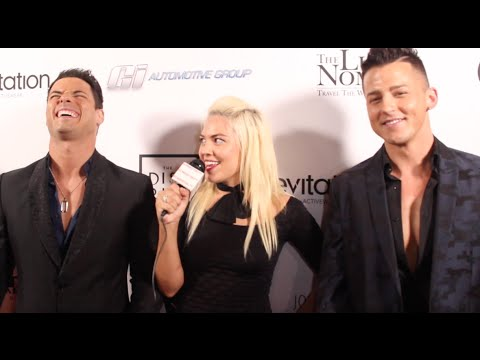 Stud Sandwich Interview at I AM Y.O.U. Young Out United! Fundraiser Event