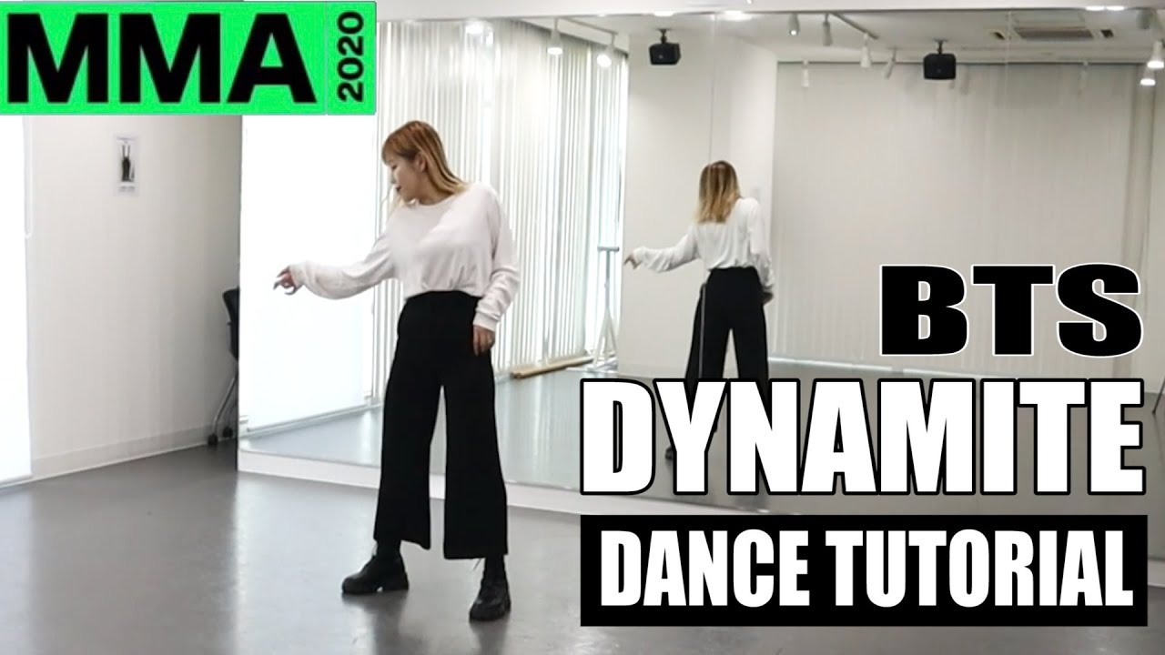 Download [DANCE TUTORIAL]BTS - DYNAMITE melon music award   MMA 2020 cover dance