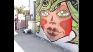 Timelapse graffiti / Questember - Bretagne