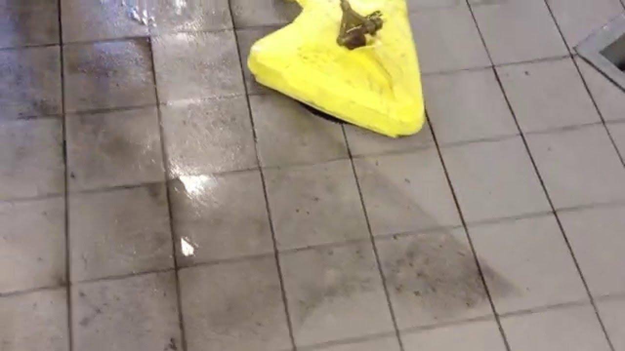 Lavaggio Pavimento Alta Pressione Senza Schizzi Con Raccolta Acqua