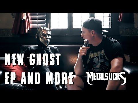 Ghost Interview 2016 - New EP Revealed, Post GRAMMY Partying, Burning Bodies on TV | MetalSucks