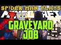Spider-Man Play's Minecraft - GRAVEYARD JOB