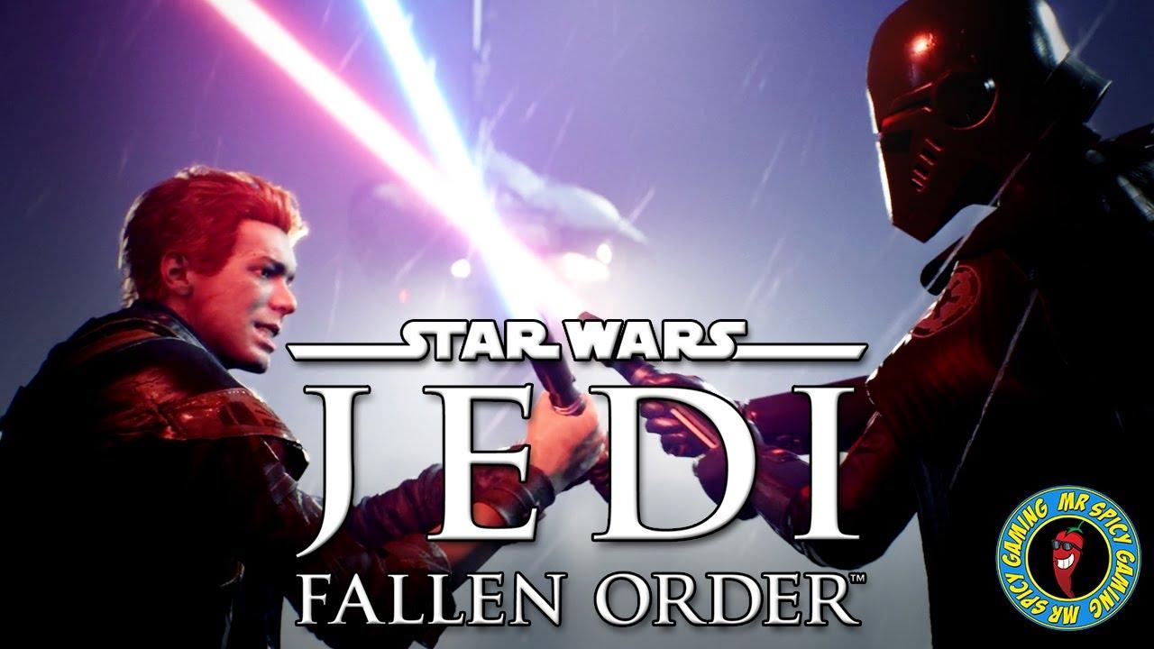 JEDI: ORDEM CAÍDA PRIMEIRA HORA DE gameplay E CINEMÁTICA - Star Wars Jedi: Fallen Order Gameplay Ep1 + vídeo
