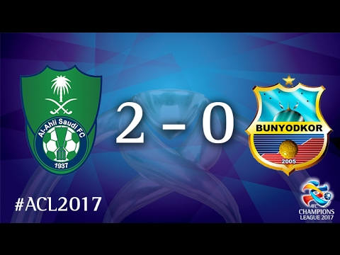Al Ahli Saudi FC vs FC Bunyodkor (AFC Champions League 2017 : Group Stage)