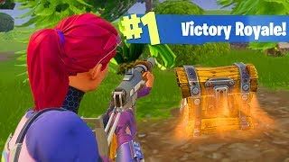 ONE CHEST CHALLENGE! (Fortnite Battle Royale)