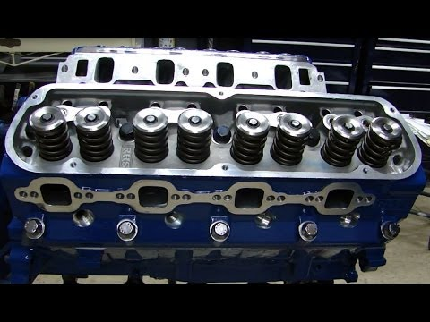 Engine Building Part 7:   Installing Heads, Head Gaskets, Head Bolts, Rockers, & Setting Lash
