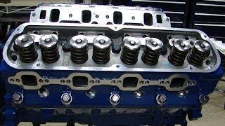 Engine Building Part 7:   Installing Heads, Head Gaskets, Head Bolts, Rockers, & Setting Lash