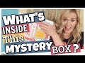 Who sent me this box? || MYSTERY BOX SWAP || Homeschool Mom