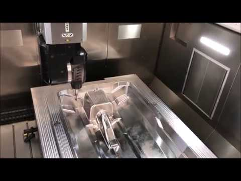 Large Capacity 5axis Machining