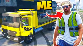 I BECAME A TOW TRUCK DRIVER