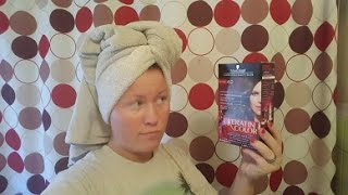 Trying Out Schwarzkopf Keratin Hair Color | Demo | Review