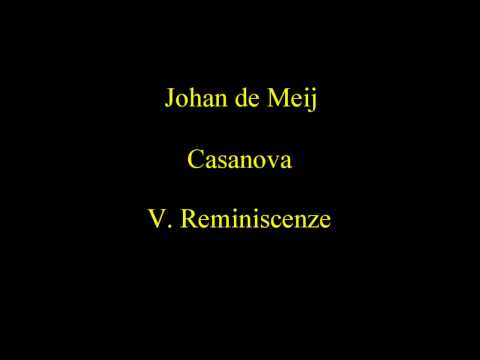 Johan de Meij - Casanova ( Concerto For Cello and Wind Orche