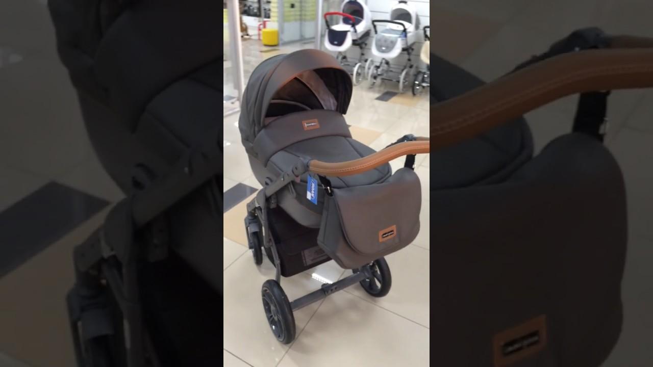 Roan Bass Soft - видео обзор детской коляски 2 в 1 от karapuzov .
