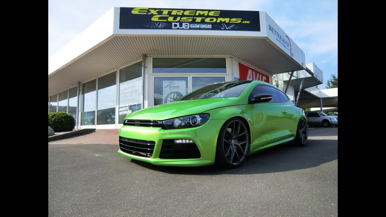 vw scirocco r z performance 20 felgen bull x. Black Bedroom Furniture Sets. Home Design Ideas
