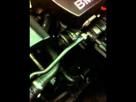 BMW e91 N47 320d ticking noise