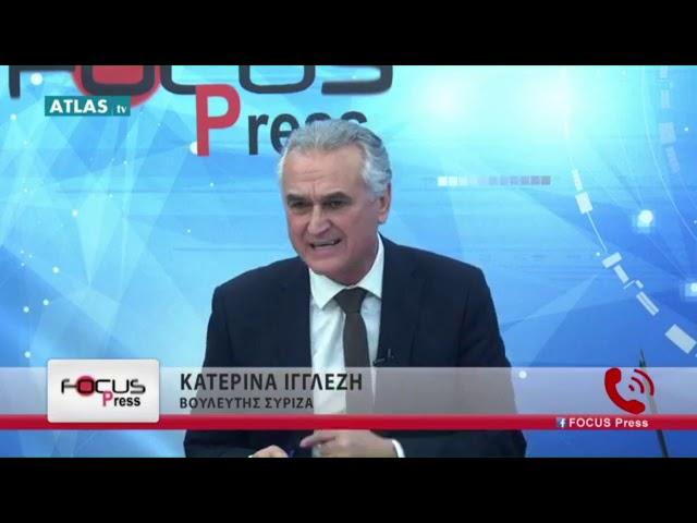 Ο Σ  Αναστασιάδης στην  εκπομπή focus press  18 01 2019