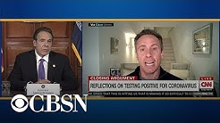 """Governor Cuomo on brother Chris: """"No one is immune"""" from coronavirus"""