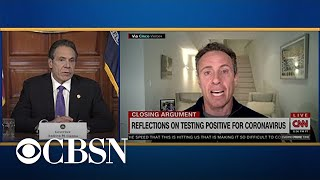 "Governor Cuomo on brother Chris: ""No one is immune"" from coronavirus"