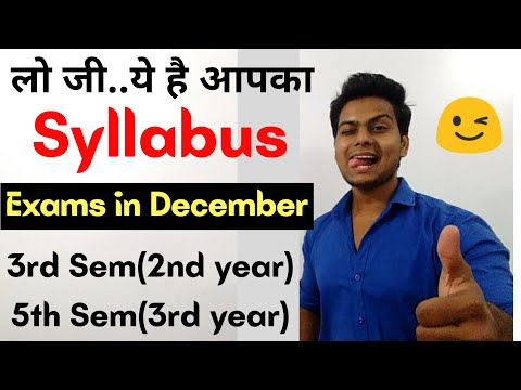 How to choose subjects in 3rd & 5th semester    DU-SOL Syllabus    SOL UPDTAES    YSC ACADEMY