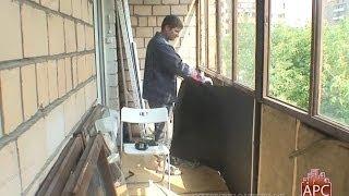 видео Способы остеклить балкон в хрущевке – варианты, а также примеры работ