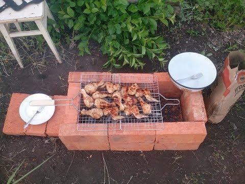 Огород с нуля #4 Как сделать простой мангал своими руками