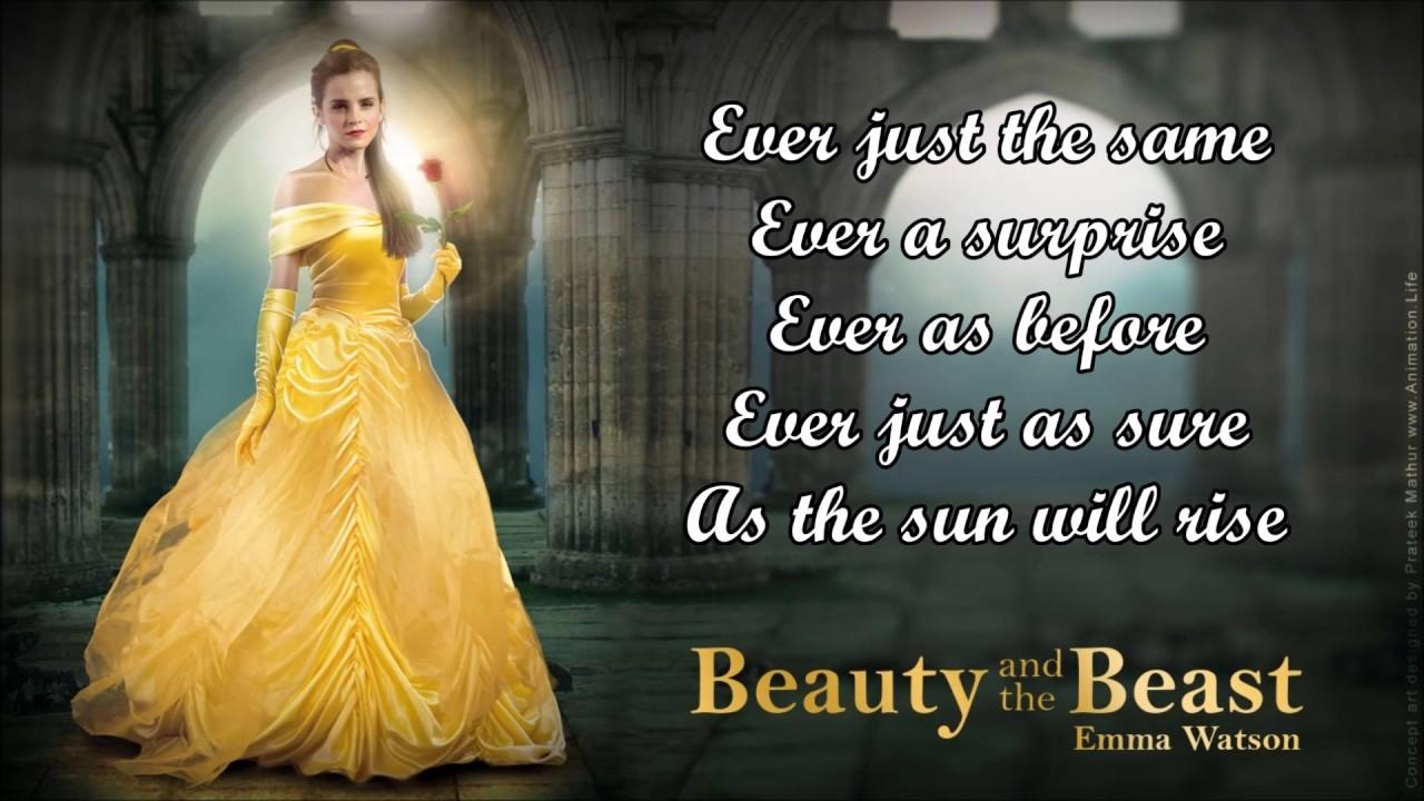 Ariana Grande, John Legend - Beauty and the Beast Lyrics ...