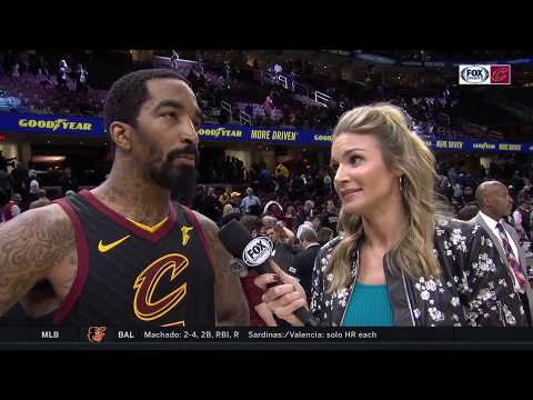 JR Smith says Cavs co-stars make returning to starting lineup easy
