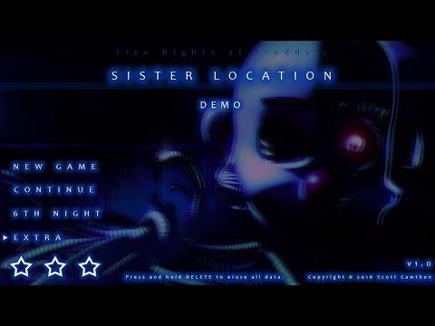 Five Nights at Freddy's (FNAF SL) Sister Location Gameplay Demo Teaser Trailer Fan Made