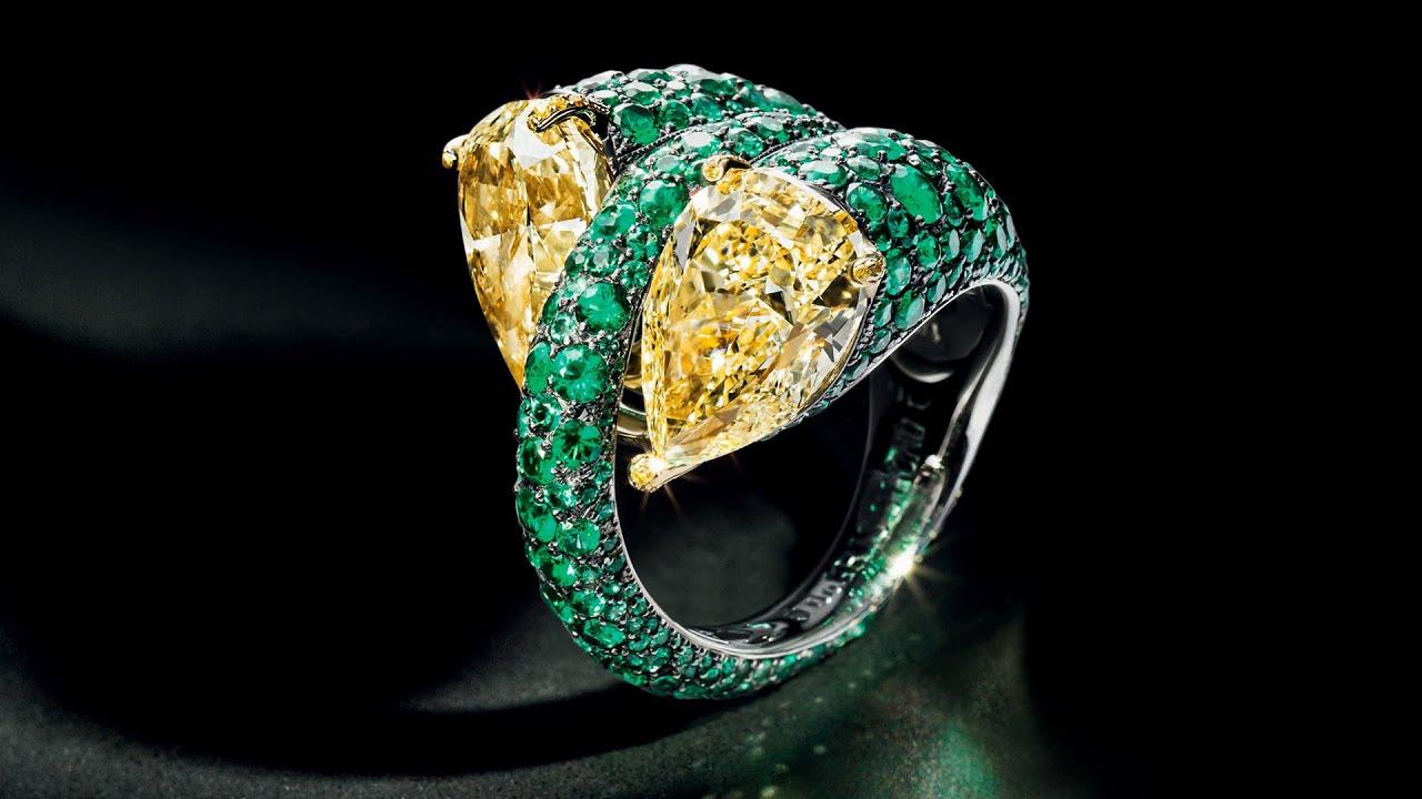 Jewelry de  DE GRISOGONO High Jewellery purest expression - YouTube