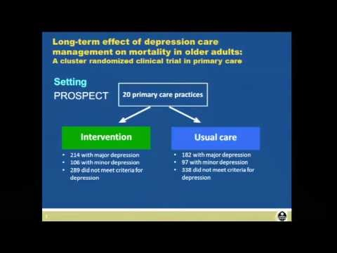 Long term effect of depression care management on mortality in older adults