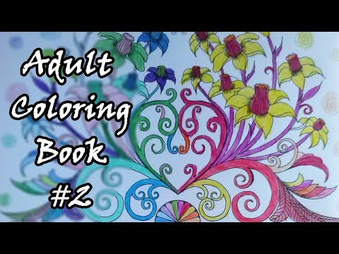 Adult Coloring Book2 Two Sides