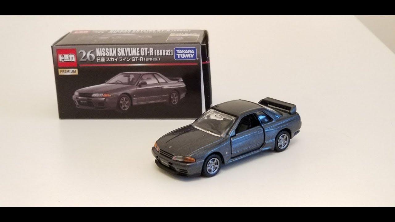 Takara Tomy Tomica Premium No.26 Nissan GT-R BNR32 1:62