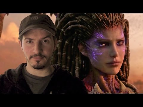 STARCRAFT 2: HEART OF THE SWARM - Extended Cinematic Cut REACTION & REVIEW