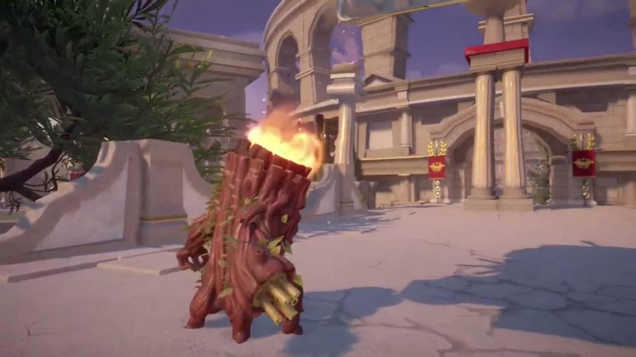 Plants Vs Zombies Garden Warfare 2 Torchwood Gameplay On Garden Ops Trials Of Gnomus Part