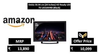 Onida 59 94 cm 24 Inches HD Ready LED TV LEO24HRD Black