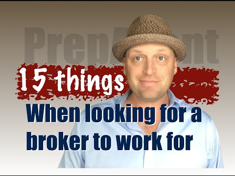 Which Real Estate Broker should I work for?