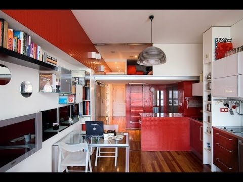 Ideas para distribuir una vivienda 30 m2 youtube for Decorar casa 45 m2
