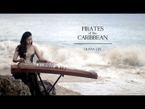 (Pirates of the Caribbean Theme) He's a Pirate - Olivia Lin Guzheng Cover