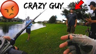 CRAZY GUY tries to FIGHT FISHERMEN (INSANE!!!)