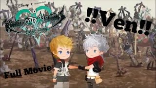 KINGDOM HEARTS Unchained X: Road to Union X / Meeting Ventus (Full Movie)