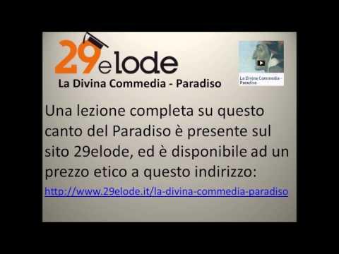 Quindicesimo canto del Paradiso di Dante. lettura e commento dei versi 61-148