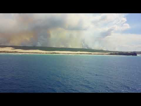 Fraser Island 2017 - Offshore at Indian Head