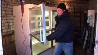 видео холодильный шкаф витрина